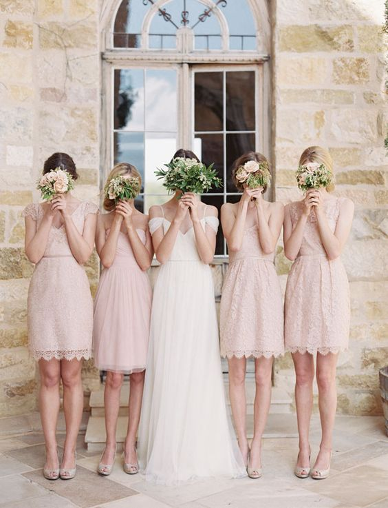 Bridesmaid Dresses,Lace Bridesmaid Dresses,Mismatched ...