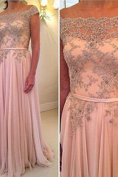 Long Prom Dress,Rhinestone Prom Dress,Charming Prom Dress,Chiffon Prom Dress,Evening Dress,Popular Prom Dress,Prom Dress For Juniors,PD0370
