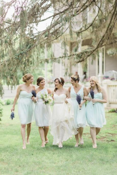 Short Bridesmaid Dress,Mint Green Bridesmaid Dress,Mismatched Bridesmaid Dress,Cheap Bridesmaid Dress,Popular Bridesmaid Dress,PD0415