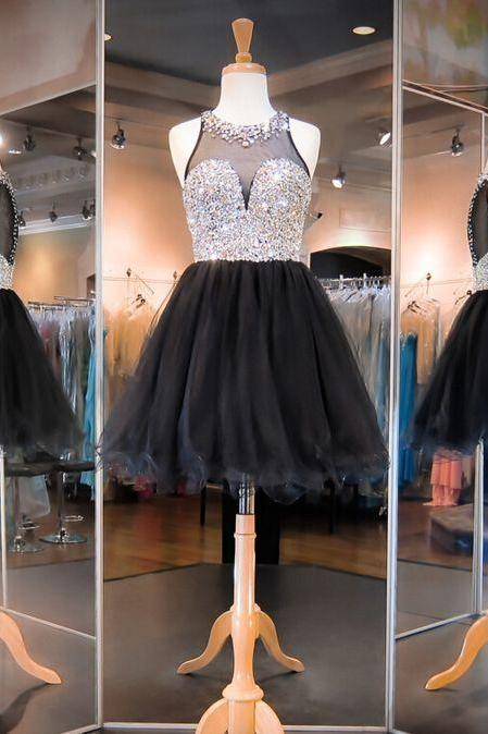 Homecoming Dress,Cheap Homecoming Dress,Rhinestone Homecoming Dress,Luxury Homecoming Dress,Juniors Homecoming Dresses,Organza Homecoming Dress,PD0501