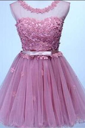 Charming Homecoming Dresses, Appliques Homecoming Dresses, Organza Homecoming Dresses, Cheap Homecoming Dresses, Juniors Homecoming Dresses, Short Prom Dresses, Dresses For Prom, PD0622
