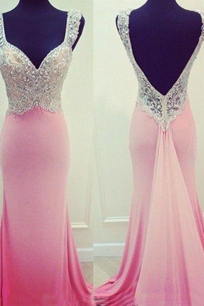 Rhinestone Prom Dresses, Mermaid Prom Dresses, Jersey Prom Dresses, Gorgeous Prom Dresses, Evening Dresses, Formal Dresses, Dresses For Prom, Graduation Dresses, Popular Prom Dresses, Cheap Prom Dresses,PD0731